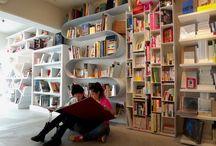 Bookshelves for livingroom