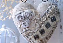 сердце текстиль