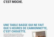 Camif le dit comme elle le pense / Camif.fr lance une nouvelle campagne de communication mettant en avant le positionnement de la marque, qui place la « consommation locale » au cœur de ses préoccupations. La marque, dédiée à l'équipement de la maison, qui existe aujourd'hui exclusivement sur internet, a fait de son engagement dans le développement durable une réalité. Avec plus de 3000 produits fabriqués en France, Camif se positionne comme le seul site internet qui aide le consommateur à privilégier le « made in France ».