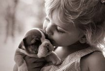 M ❤️ Precious moments / This special bond between kids & animals is adorable