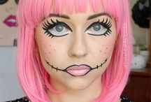 Doll makeup 4 halloween