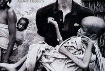 Mother Teresa & Audrey hepburn