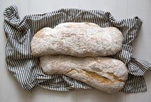 Yeasted bread, savory breads, dough
