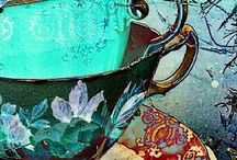 Artistic Teacups / Small and delicate, big and bold, or simply cracked; who doesn't love a teacup? / by Marie Wise