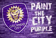 Paint The City Purple / Painting the City of Orlando Purple