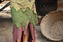 abbigliamento feltro
