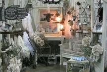 Vintage Market Vendor Displays