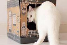 Litière de voyage pour chat design