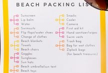 Beach vacation / Beach vacation tips. Beach vacation packing list