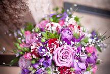Menyasszonyi csokrok ° Bouquets