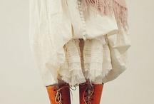 mori and yama girls / Inspiration for my autumn style.
