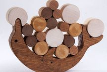 Wooden balance toys