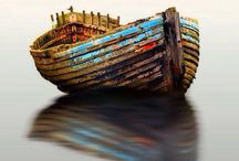 Navio e Barco