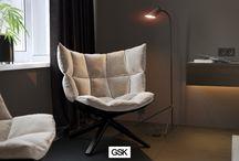 """""""Black&White""""  Design of the apartment interior design in St. Petersburg"""