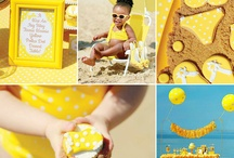 Yellow Party ★ Sweet Tables / Yellow Sweet Tables and inspiration