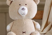 Zabawki / soft toys made from organic cotton