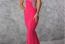 Abendkleider in Pink