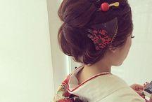結婚式: 和婚 ヘアスタイル 新日本髪