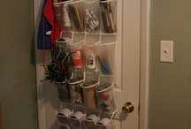 Craft Room - Storage & Organisation / Fantastic storage ideas / by Kate Palmer