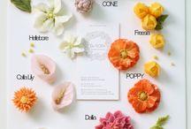 цветы из глазури