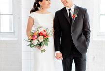 Modern Minimalist Chic Wedding