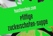 Suppen-Monster // soups and stews / Hier findet ihr unsere Rezpte für frische und leckere Suppen! // here you can find our recipes for fresh and delicious soups! // www.toastenstein.com