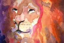 Lions & Exotic Cats / This is a collection of lion pictures, including pictures of my lion, Rudy, that lived with us for 13 years!  I have also recently decided to add photos of other exotic cats.  / by Marsha Ross