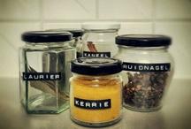 DIY spice jars