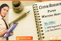 Custom Research Paper Writing Service Online