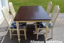 Refinished Furniture / by Brooke Steel Romriell