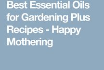 Essential oils and Gardening