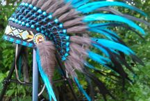 Kids Native American Headdresses / Indian Warbonnet