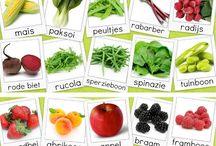 Kalender / Groente en fruit