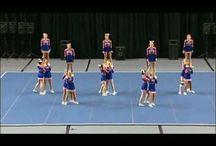 cheerleading routines