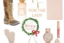 Holiday Gift Guides {For Her} / Your one-stop destination for gift giving ideas this holiday season. Here you will find the best of the best gift guides for the ladies in your life.
