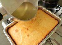 calda de molhar bolo