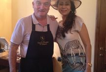 Vandana Luthra at Torciano Winery / #Beauty and #wine: a winning combination for #VandanaLuthra