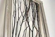 Rustic twig ideas