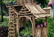 Tree house planter