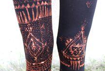 tribal leggins
