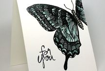 Stampin' Up! - Swallowtail / Stampin' up stamp set and card design