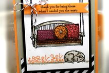 Stampin' Up! - Sitting Here / Stampin' up stamp set and card design