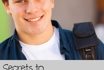 College Prep & Graduation / Resources for parents and teen homeschoolers to prepare for college!