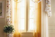 Curtain Ideas & Window Treatments / by Vernette Smith
