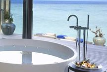world's best hotel bath views / Looking for a community which likes bathrooms and creates the largest collection of hotel bathroom views around the world. Please connect and put your best hotel bathroom view - picture on the map.