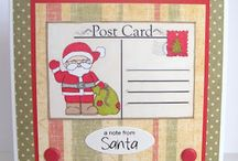 Santa Digi Collection / These are made using our Santa digi collection from our store...