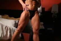 Sexy Muscle And Fitness in High Heels