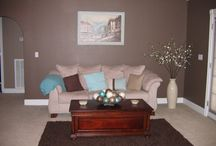Living room Colors and ideas / by Megan Cox