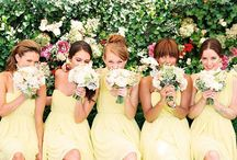 Who is a bride without her bridesmaids?? / by Jess Parsons