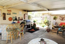 Outdoor living room / Creating an elegant outdoor living room, Baja style, Baja architecture, minimalist design,  southwestern design, indoor outdoor, patio, verandah